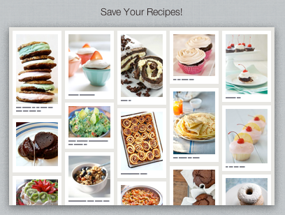 Pinterest Recipes Board