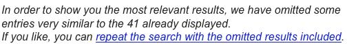 Google supplemental results