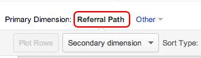 Referral Path Google-Analytics