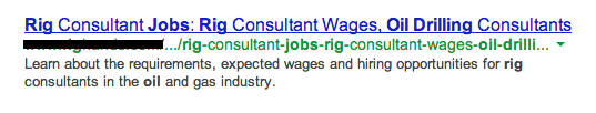 oil drilling jobs snippet