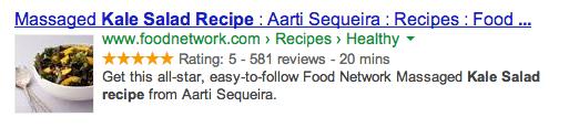 Rich Recipe Snippet