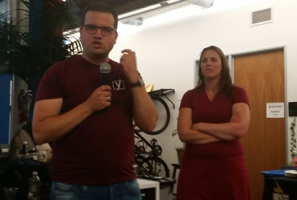 Team Yoast: Joost and Marieke