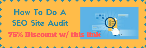 SEO Site Audit Course Deal