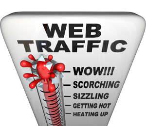 scorching web traffic