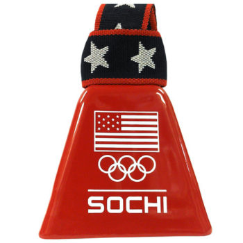 Sochi red cowbell