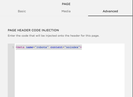 Advanced page code injection