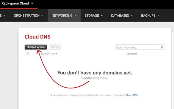 Rackspace Cloud DNS